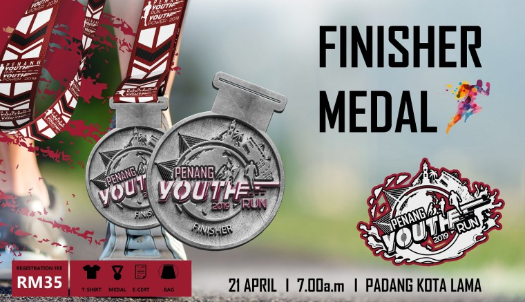 Penang Youth Run Medal